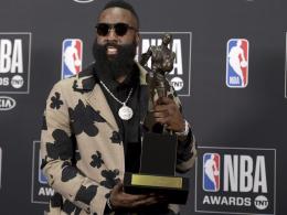 NBA-Awards: James Harden zum MVP gewählt