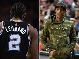 Die Spurs bauen um: Leonard geht, DeRozan kommt