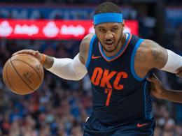 Houston Rockets nehmen Anthony unter Vertrag