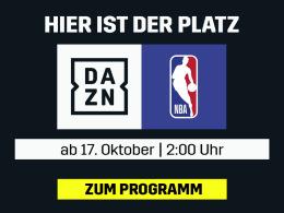 Live und auf Abruf: Die NBA auf DAZN