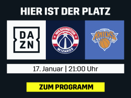 NBA London Game Wizards vs. Knicks live bei DAZN