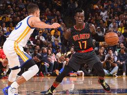 Schröder bietet Curry die Stirn - Warriors-Serie hält