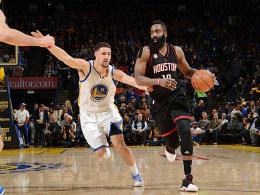 Harden führt Rockets zum Thriller-Sieg bei den Warriors