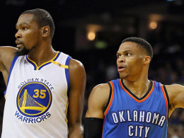 Trotz Triple-Double: Durant stiehlt Westbrook die Show!