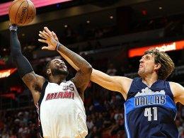 Nowitzki verliert mit Mavs in Miami - Neuer Tarifvertrag