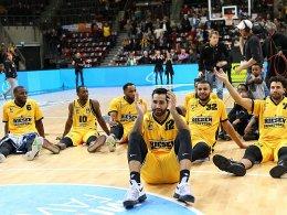 Ludwigsburg trifft auf Maccabi Rishon Le-Zion