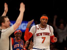 Knicks feiern Melo - Doppeltes Pech für Zipser