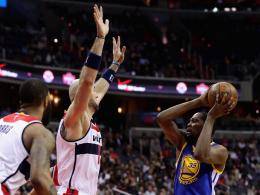 Durant fehlt Warriors wochenlang - Westbrook bei 30