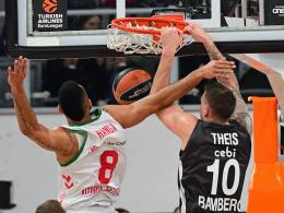 Ludwigsburg auf Halbfinal-Kurs - Bamberg chancenlos