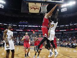 Zipsers Bulls nehmen Fahrt auf - Nowitzki verletzt