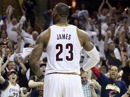 Sweep-Rekord für LeBron James