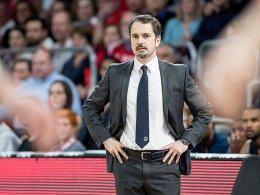 ALBA Berlin trennt sich von Trainer Caki