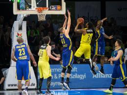 Oldenburg gewinnt zum Play-off-Auftakt in Bayreuth