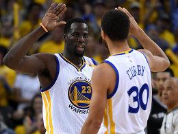 Aufholjagd deluxe: Warriors schmelzen Spurs ein