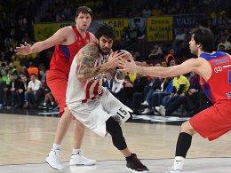 Olympiakos düpiert ZSKA und trifft im Finale auf Fener