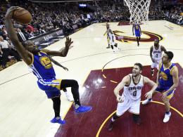 Durant trifft Cleveland schwer