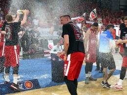 Brose Bamberg zum neunten Mal Basketball-Meister