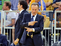 Garcia Reneses coacht Alba