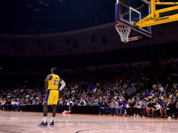 LeBron-Debüt im Lakers-Dress - Schröder stark