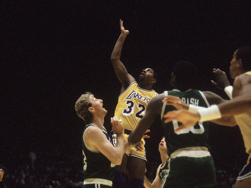 Dynastien in der NBA, Teil 2: Magic Johnson gegen Larry Bird - die ...
