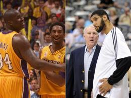 Lakers und Spurs: Unterschiedliche Herangehensweisen