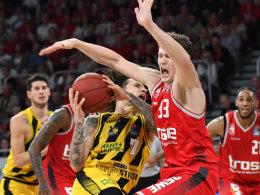 Mit Rekord: Bamberg gewinnt intensive Partie