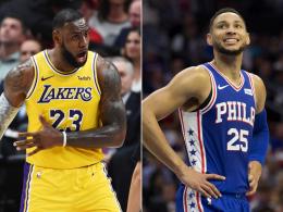 Nichts zu holen für LeBrons Lakers - Simmons strahlt