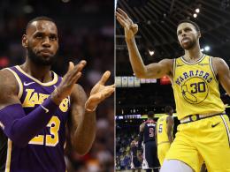 Currys 51 überstrahlen Warriors-Gala - LeBron feiert ersten Sieg