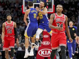 Thompson bricht Currys Dreier-Rekord in zweieinhalb Vierteln
