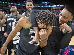 Rose-Rekord mit Tränen - und die ganze NBA feiert ihn