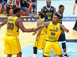 Jones' Steal bringt Ludwigsburg den ersten Sieg