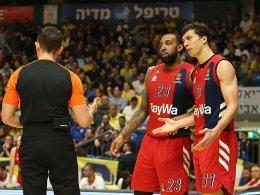 Bayern chancenlos in Tel Aviv