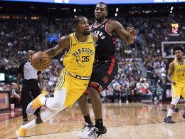 Trotz Durants 51-Punkte-Show: Raptors nicht zu stoppen!