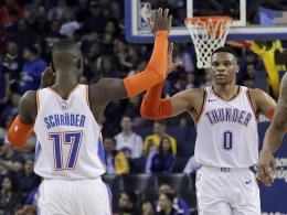 Westbrook feiert starken Schröder - Phoenix schockt Denver