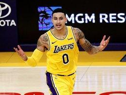 Kuzmas Lakers schlagen OKC - und Beasley trägt die falsche Hose