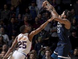 Treffer in der Schlusssekunde: Rose bezwingt die Suns