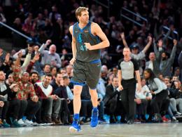 Wieder Standing Ovations: New York bejubelt jeden Nowitzki-Punkt