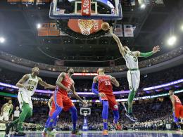 Philadelphias Celtics-Phobie - LeBron vor Problemen
