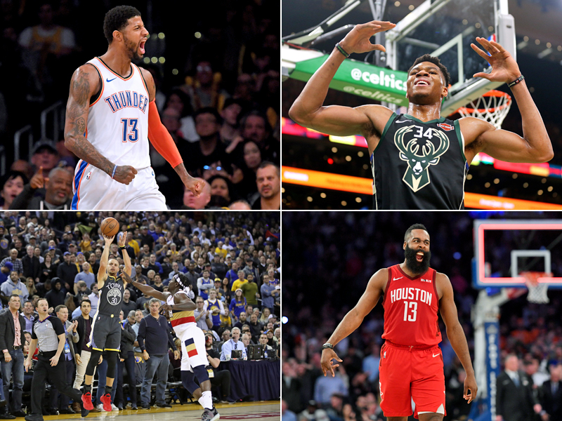 Captain Giannis, kein Doncic: Die NBA All-Star-Starter 2019 - Basketball | Bildergalerie - kicker