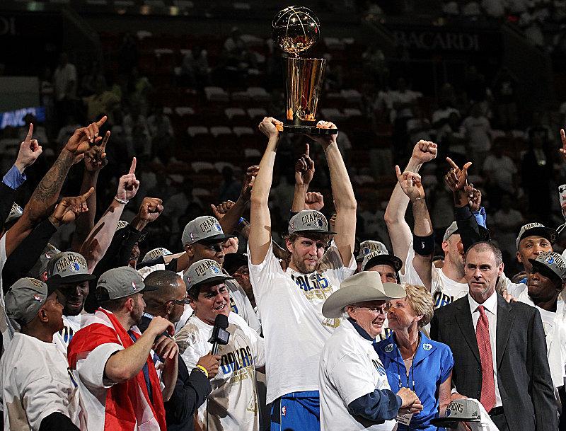 Dirk Nowitzki ist auf dem Basketballgipfel angelangt