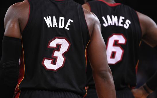 D-Wade und der King sind dabei