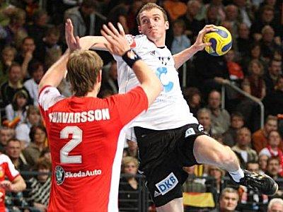 Bester Werfer des deutschen Teams mit neun Treffern: Holger Glandorf.