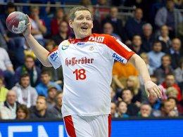Mit breiter Brust: Stian Tönnesen erzielte sieben Tore für den SCM.