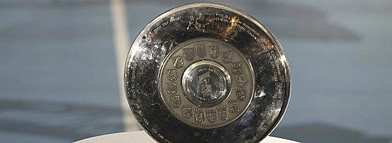 Die Meisterschale der Handball-Bundesliga.