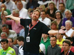 Durch die Hintertür in die Champions League? HSV-Trainer Martin Schwalb.