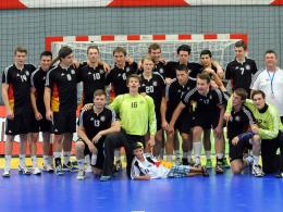 Keine Schweden-Happen: Die deutschen U18-Junioren feierten in Hard den EM-Titel.