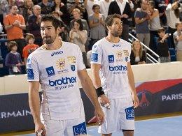Nikola (li.) und Luka Karabatic