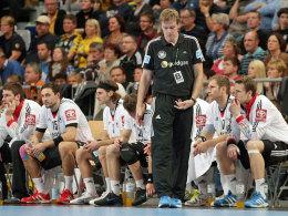 DHB-Team und Martin Heuberger