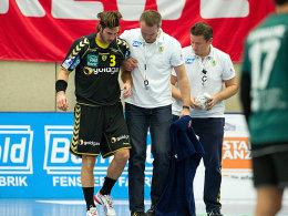 Lange Pause für Uwe Gensheimer: Der Nationalspieler zog sich eine Riss der Achillessehne zu.