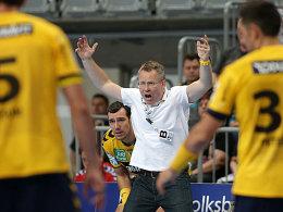 Löwen-Coach Gudmundur Gudmundsson.